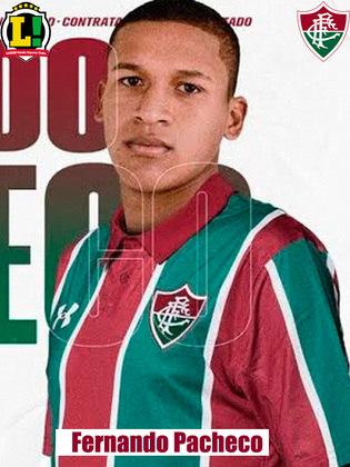 Fernando Pacheco - 6,0 -Entrou no lugar de Lucca no segundo tempo. Deu mais velocidade ao Fluminense e ajudou na marcação do meio-campo.