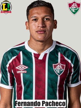 Fernando Pacheco - Sem nota - Com apenas 1 minuto de jogo, o peruano sofreu uma lesão muscular e precisou ser substituído.