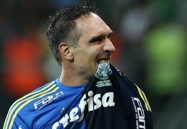 Fernando Prass: 274 jogos pelo Palmeiras