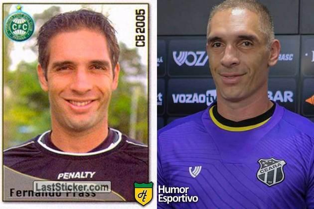 Fernando Prass jogou pelo Coritiba em 2005. Inicia o Brasileirão 2020 com 42 anos e jogando pelo Ceará