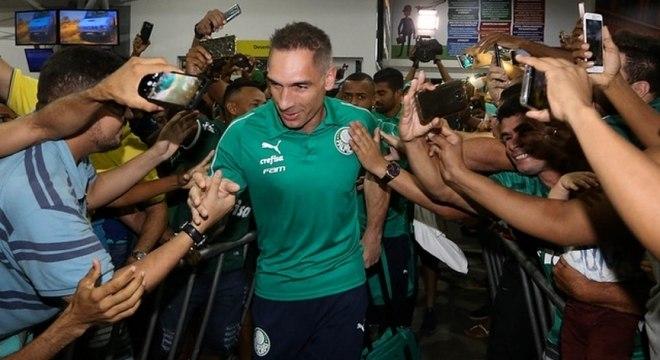 Fernando Prass tem contrato só até o fim deste ano e não renovará