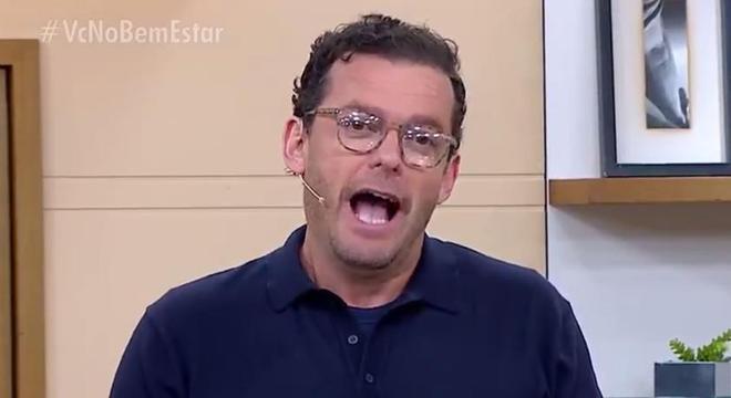 Fernando Rocha criou um 'climão' no programa