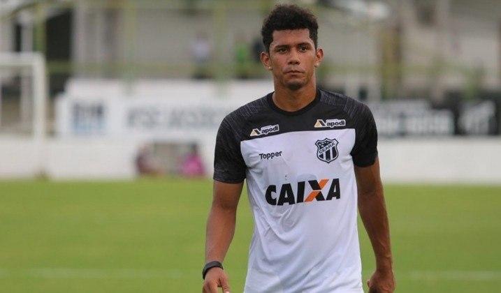Fernando Sobral, meio-campista do Ceará, tem 25 anos e contrato até dezembro de 2021. Vale 900 mil euros (R$ 5,9 milhões).