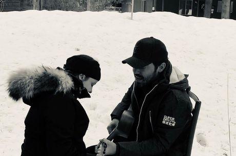 Fernando postou foto para anunciar término