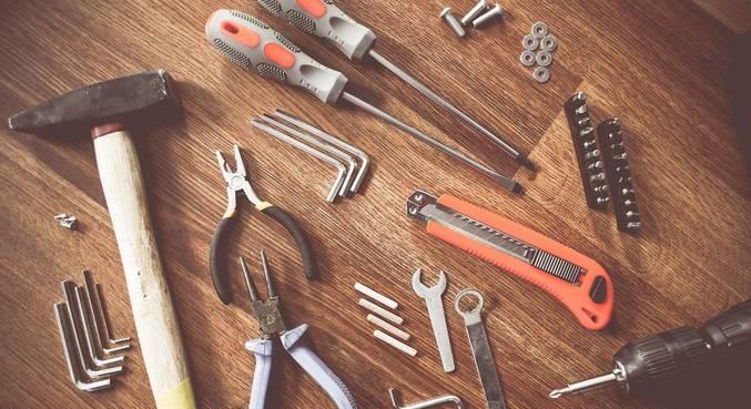 O tradicional kit de ferramentas para reparos residenciais teve aumento de 12,98%