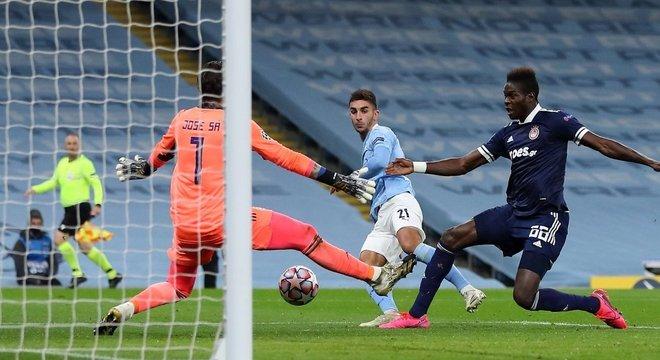 Manchester City, gol de Ferrán Torres
