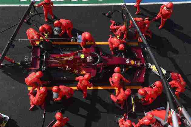 Ferrari teve muitas dificuldades no 1000º GP na F1. Charles Leclerc foi apenas o oitavo