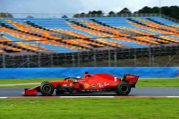 Ferrarista saiu de 11º para 3º.