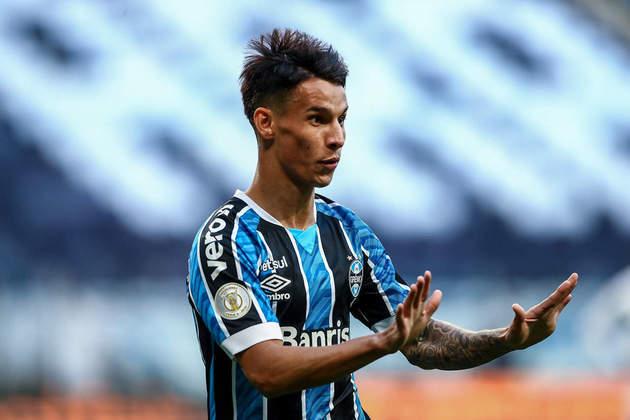 Ferreirinha (23 anos) - Clube: Grêmio - Posição: atacante - Valor de mercado: sete milhões e meio de euros.