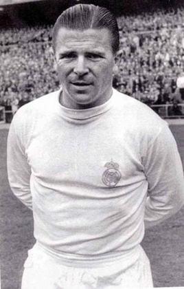 Ferrenc Puskas - Três vezes campeão da Liga dos Campeões, Puskas é um dos maiores ídolos do Real Madrid e responsável por liderar a seleção húngara a uma campanha espetacular na Copa do Mundo de 1954. Naquela ocasião, a Hungria foi derrotada na final, pela Alemanha.