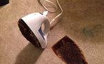 Mais um ferro estampado no carpete