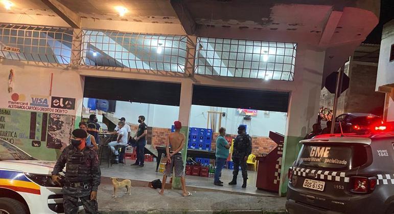 Polícia e Guarda Municipal acabaram com festa para mais de 200 pessoas em Betim