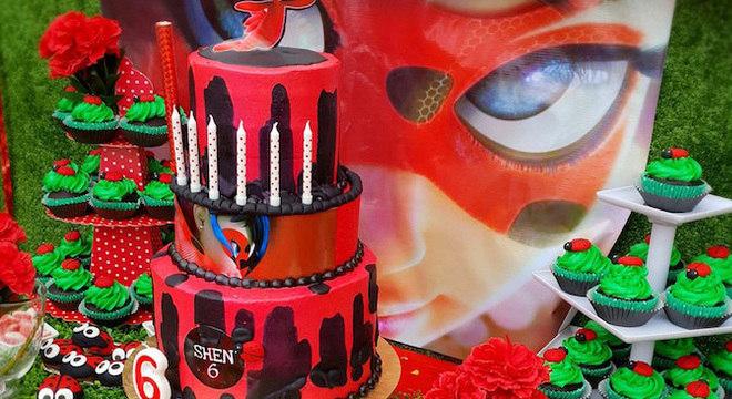 Festa de aniversário ladybug