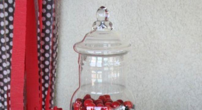 Festa ladybug com doces personalizados