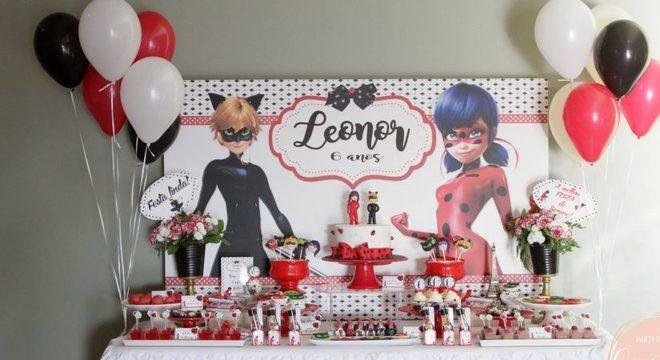Festa Miraculous: As aventuras de ladybug e cat noir
