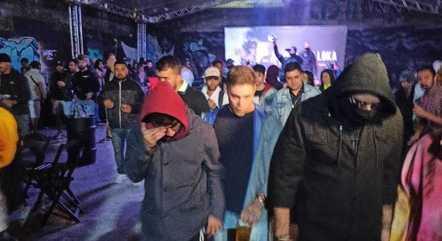 Pagode reuniu 157 pessoas em evento na zona norte