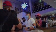 Polícia encerra festa clandestina com música eletrônica em SP