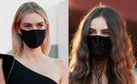 O tapete vermelho da 77ª edição do Festival de Veneza, que chega ao fim neste sábado (12), foi marcado por artistas usando máscaras e respeitando o distanciamento social