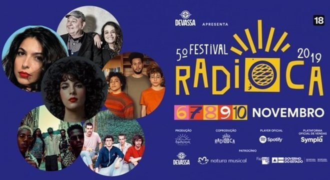 5ª edição do Festival Radioca, em Salvador, terá Céu, Tulipa Ruiz e mais; datas e ingressos