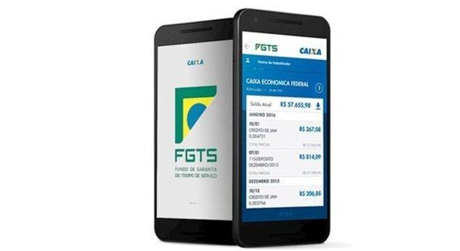 FGTS lidera ranking de aplicativo mais baixado no país