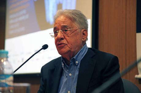 Na imagem, ex-presidente Fernando Henrique Cardoso