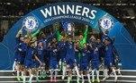 O Chelsea venceu o Manchester City e faturou a sua segunda Liga dos Campeões da Europa em partida realizada no Estádio do Dragão, na cidade do Porto, em Portugal