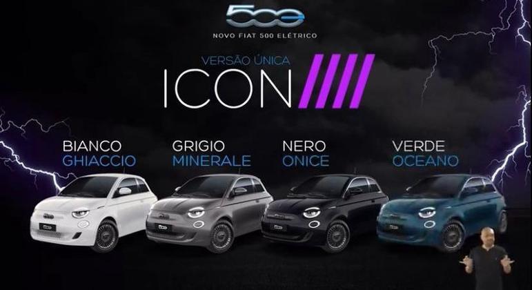 Fiat apresentou o carro em uma Live