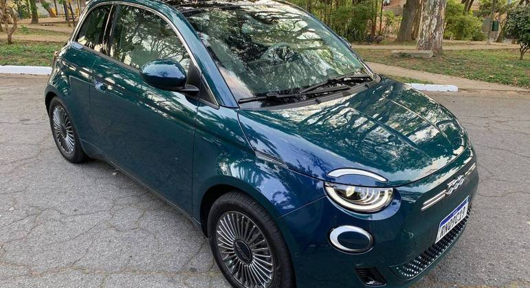 Fiat mantém suas linhas de estilo vintage fluídas