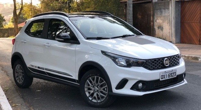 Fiat Argo Trekking vem crescendo nas vendas assim como o Hyundai HB20 à frente do Ford Ka