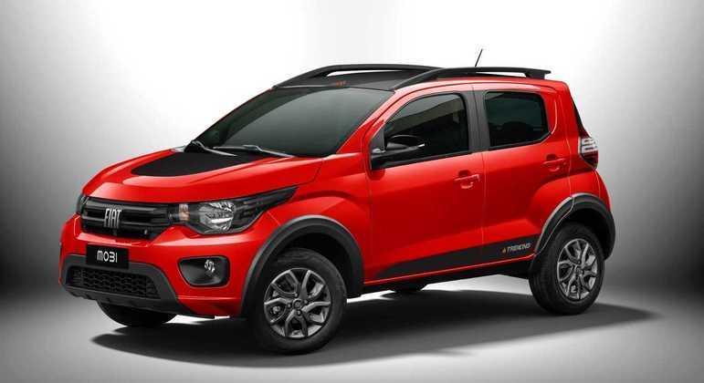 Fiat conquistou as três posições do pódio entre os modelos mais vendidos