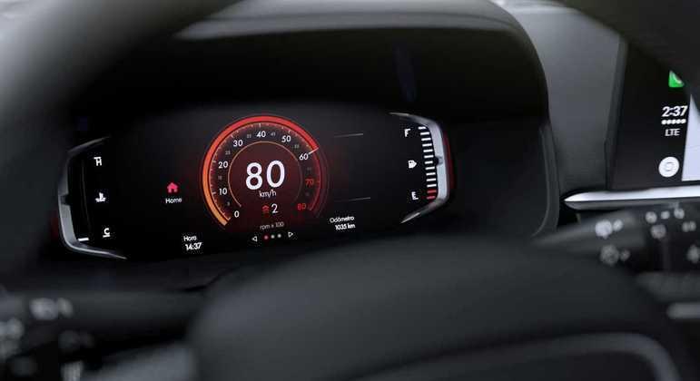 Cluster digital poderá ser personalizável de acordo com o gosto do motorista