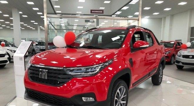 """Fiat Strada foi uma das """"estreantes"""" nas concessionárias do país: vendas aceleraram"""
