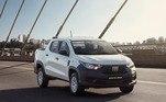 Fiat StradaA pick-up de pequeno porte foi comercializada 80.030vezes no acumulado de 2020 e assegurou a quarta posição do ranking