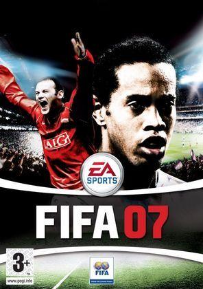 FIFA 07 - Na versão internacional, os astros da capa voltavam a ser Wayne Rooney e Ronaldinho Gaúcho.
