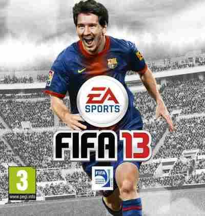 FIFA 13 - A 20ª edição de FIFA foi a primeira desde FIFA 2005 sem Wayne Rooney na capa. Lionel Messi foi o escolhido para edição.