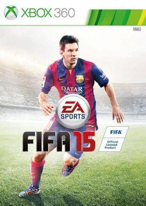 FIFA 15 - O game teve mais uma vez Lionel Messi como o grande astro da capa global.