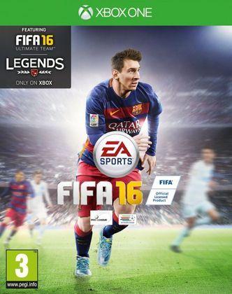 FIFA 16 - Pelo quarto ano seguido, contou com a presença de Lionel Messi na capa.