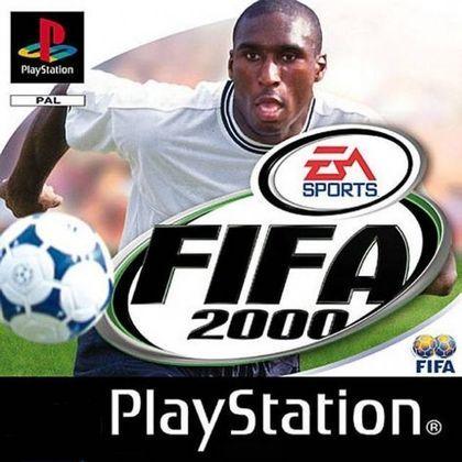 FIFA 2000 - O game veio na capa com o atacante Sol Campbell.