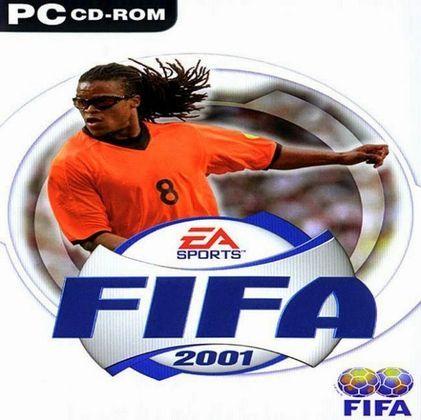 FIFA 2001 - Com muitas capas ao redor do mundo, o game em seu lançamento mundial utilizou Edgar Davids como jogador destaque.