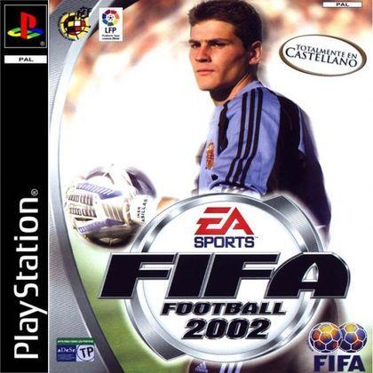 FIFA 2002 - A capa mundial do jogo foi do goleiro Iker Casilhas