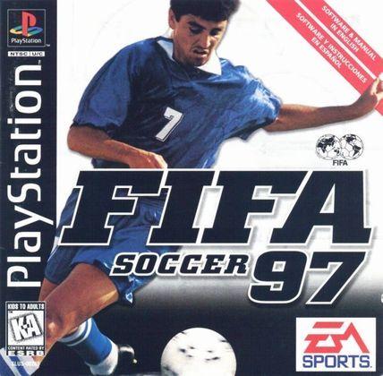 FIFA 97 - A primeira vez que um brasileiro estampa a capa do jogo: o tetracampeão mundial Bebeto, um dos principais atacantes de história da nossa seleção, é a estrela da capa global do game.