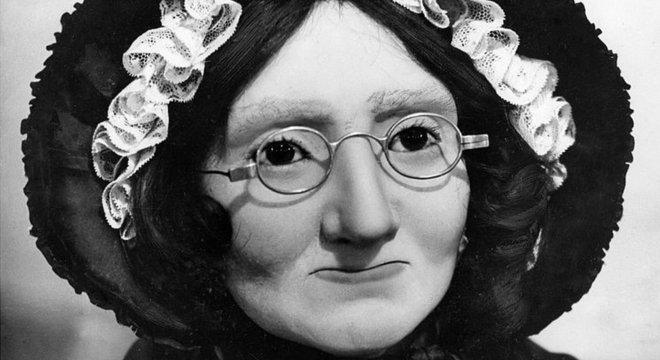 Ela própria era famosa o suficiente para merecer uma figura de cera com sua semelhança