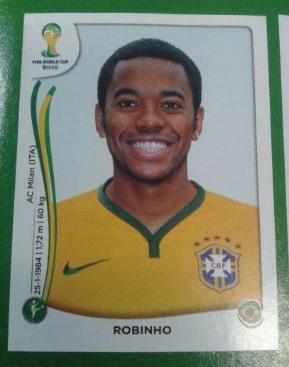 Vaza lista da seleção brasileira para a Copa, no álbum