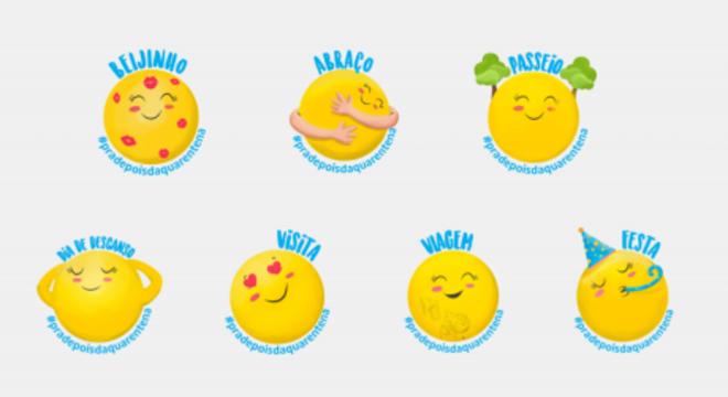UNICEF lança figurinhas de WhatsApp para o Dia das Mães