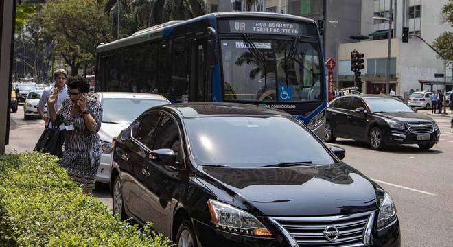 Avenida Faria Lima, região nobre da zona oeste de São Paulo