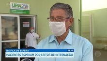 Pacientes esperam por leitos de internação
