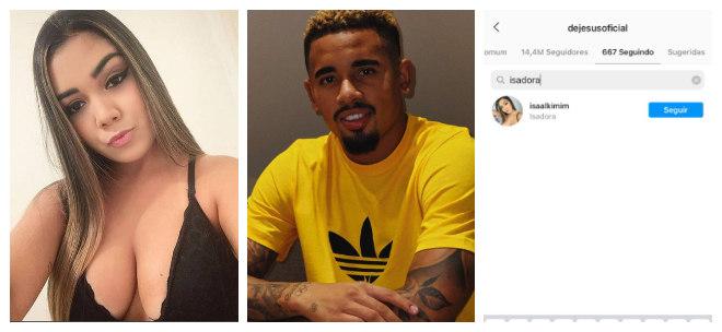 Entre os milhares de admiradores, a jovem tem até fãs famosos, como o craque da seleção brasileira Gabriel Jesus, que atualmente joga pelo Manchester City, na Inglaterra