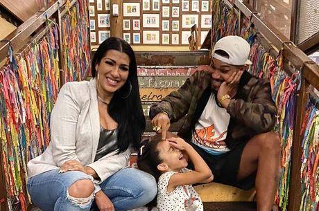 Naldo e Ellen apoiam a filha a seguir os passos deles