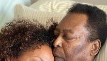 Com previsão de alta do pai, filha de Pelé volta aos EUA