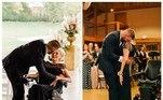 A mãe deScooter Hightower, do Tennessee, nos Estados Unidos, foi diagnosticada em 2019 com ELA, uma doença degenerativa. Em 2019, já havia perdido o movimento das pernas, passando a se locomover com a ajuda de uma cadeira de rodas. Para atender ao último desejo dela e guardar a lembrança, o rapaz tirou a mãe para dançar em sua festa de casamento. Veja